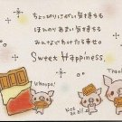 Crux Sweet Happiness Pigs Mini Memo Pad