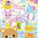 Crux Bears Circus Mini Memo Pad