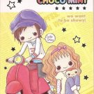 Crux Choco Mint Motorcycle Mini Memo Pad