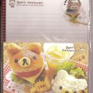 Kamio Bear's Hamburger Letter Set
