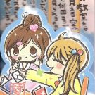 Kamio Girlfriends Diecut Mini Memo Pad