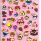 Q-Lia Desserts and Sweets Hard Epoxy Sticker Sheet