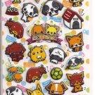 Crux Dogs Puffy Shiny Sticker Sheet