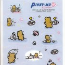 San-X Pinny Mu Active Life Large Sticker Sheet