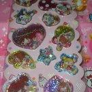 Q-Lia Peach Mint 3D Shakers Sticker Sheet