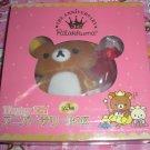San-X Rilakkuma Bear 5th Anniversary Plush in Box