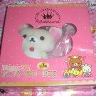 San-X Korilakkuma Bear 5th Anniversary Plush in Box