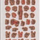 Crux Sign Language Cork Sticker Sheet