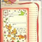 Kamio Sweet Dreams Bears Letter Set