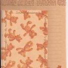 Japanese Teddy Bears Letter Set