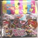 Kamio Miracle Girls Fast Food Restaurant 3D Sticker Sack