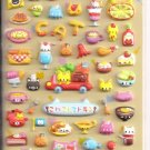 Kamio Cat Restaurant Puffy Sticker Sheet