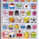 Crux Pig Items Hard Epoxy Sticker Sheet