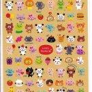Mind Wave Lucky Animal Sticker Sheet