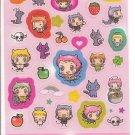 Kamio Devil Chan Sparkly Sticker Sheet