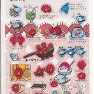 San-X Atsugari San Sticker Sheet