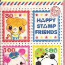 Kamio Happy Stamp Friends Block Eraser