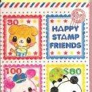 Kamio Happy Stamp Friends Block Eraser
