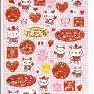 Crux Strawberry Rabbit Sticker Sheet