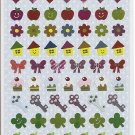 Crux Fruits, Candies, and Royalty Foil-like Sticker Sheet