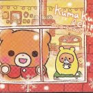 Crux Kuma Kuma & Chip on a Snowy Day Mini Memo Pad