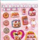 Lemon Co. Cakes and Donuts Epoxy Mini Sticker Sheet