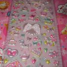Q-Lia Carousel and Gingerbread Houses with Rhinestones 3D Sticker Sheet