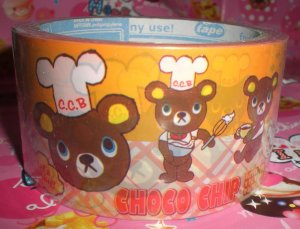 Japanese Choco Chip Large Deco Tape