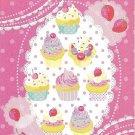 Phoenix Co. Prele Pink Cupcakes Mini Memo Pad