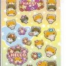 Ark Road Happy Hamsters Sticker Sheet