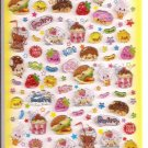Q-Lia Junk Sweets Epoxy Sticker Sheet