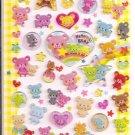 Q-Lia Humming Bear Epoxy Sticker Sheet