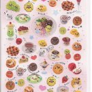 Crux Sparkly Foods with Faces Sticker Sheet