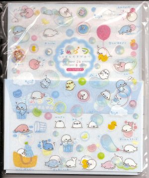 San-X Mamegoma and Friends Letter Set