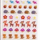 Mind Wave Forest Animals Sticker Sheet