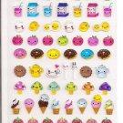 Yuan Fei Lai Smiling Food Sticker Sheet