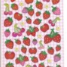 Crux Sparkly Strawberries Sticker Sheet