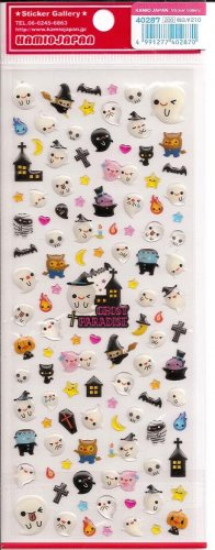 Kamio Ghost Paradise Red Sticker Sheet