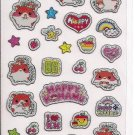 Q-Lia Happy Kohamu Sparkly Sticker Sheet