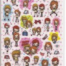 Kamio Happy Girls Sticker Sheet