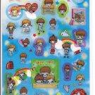 Kamio School Kids Sticker Sheet