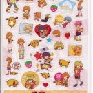 Kamio Super Happy Girl Sticker Sheet
