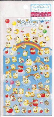 San-X Pote Hamu Sticker Sheet