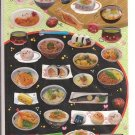 Crux Realistic Japanese Foods Sticker Sheet