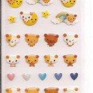 Ark Road Bears and Rainbows Glittery Sticker Sheet