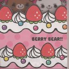 Mind Wave Berry Bear Mini Memo Pad