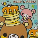 Q-Lia Bear's Park Mini Memo Pad