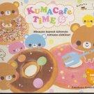 Crux Kuma Cafe Time Memo Pad