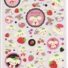 San-X Berry Puppy Sticker Sheet #1
