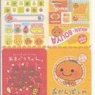 San-X Mikan Bouya, Amaguri, and Friends Jumbosealdass Sticker Booklet #1